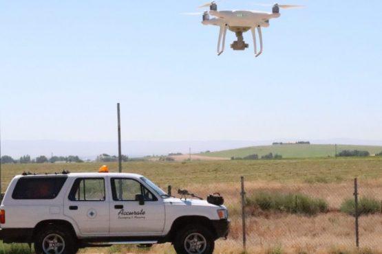 UAV, land survey, boise idaho