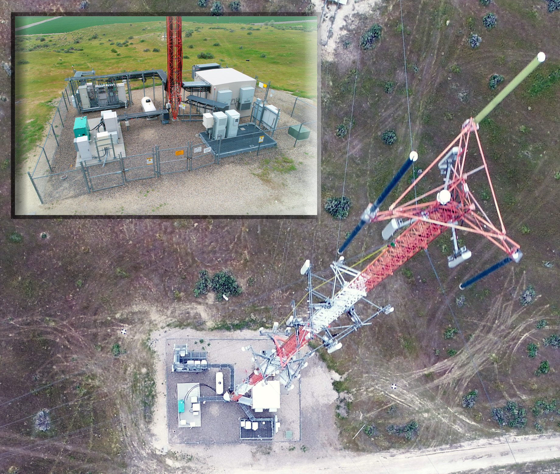 Aerial Tower Photo